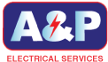 Electrician Los Angeles, Los Angeles Electrician Services, A & P Electric Logo